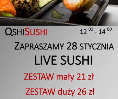 sushi live Stolik-1